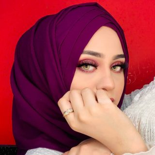 Criss cross hijabs now restocked in all colours, only on thatadorbshijab.com 💜