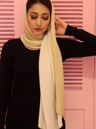 crinkled hijab