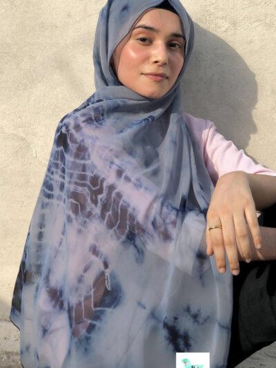 tie dye hijab